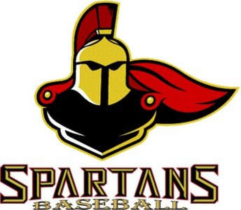 Spartans Baseball Custom Shirts & Apparel